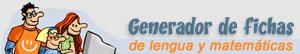 Generador de fichas para imprimir de Lengua y Matemáticas